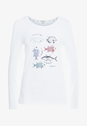 BARBOUR BAY TEE - T-shirt à manches longues - white