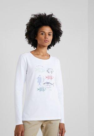 BARBOUR BAY TEE - Langarmshirt - white