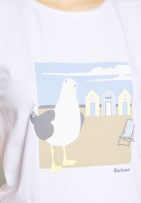 Barbour - ORLA TEE - Print T-shirt - white - 4