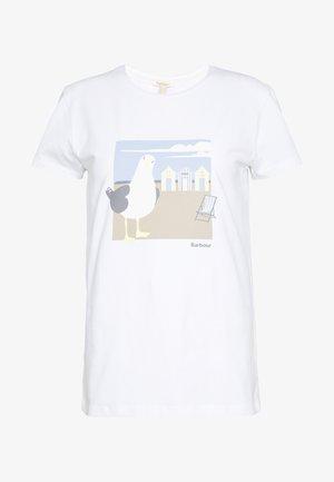ORLA TEE - Print T-shirt - white