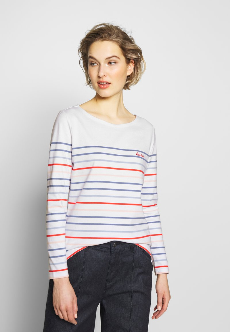 Barbour - BARBOUR HAWKINS  - Long sleeved top - white multi