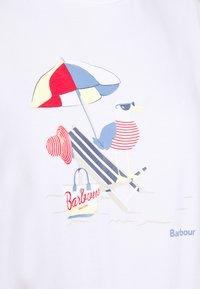 Barbour - AMBER TEE - T-Shirt print - white - 4