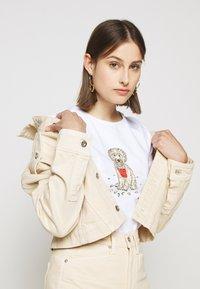 Barbour - BEACH DOG TEE - Print T-shirt - white - 3