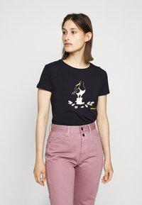 Barbour - OYSTERCATCHER TEE - Print T-shirt - navy - 0