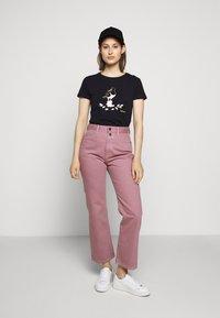 Barbour - OYSTERCATCHER TEE - Print T-shirt - navy - 1