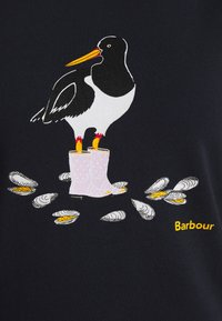 Barbour - OYSTERCATCHER TEE - Print T-shirt - navy - 5
