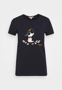 Barbour - OYSTERCATCHER TEE - Print T-shirt - navy - 4