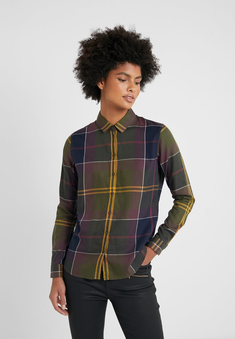 Barbour - MOORLAND - Button-down blouse - olive