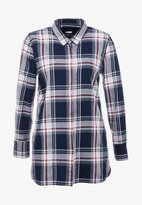 Barbour - Blouse - navy/rouge - 3