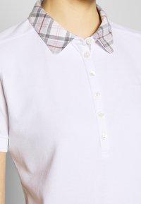 Barbour - MALVERN - Poloshirt - white/platinum - 4
