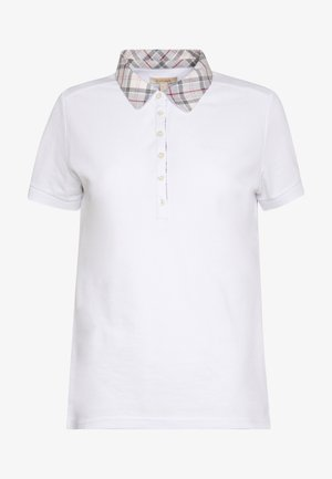 MALVERN - Polo shirt - white/platinum