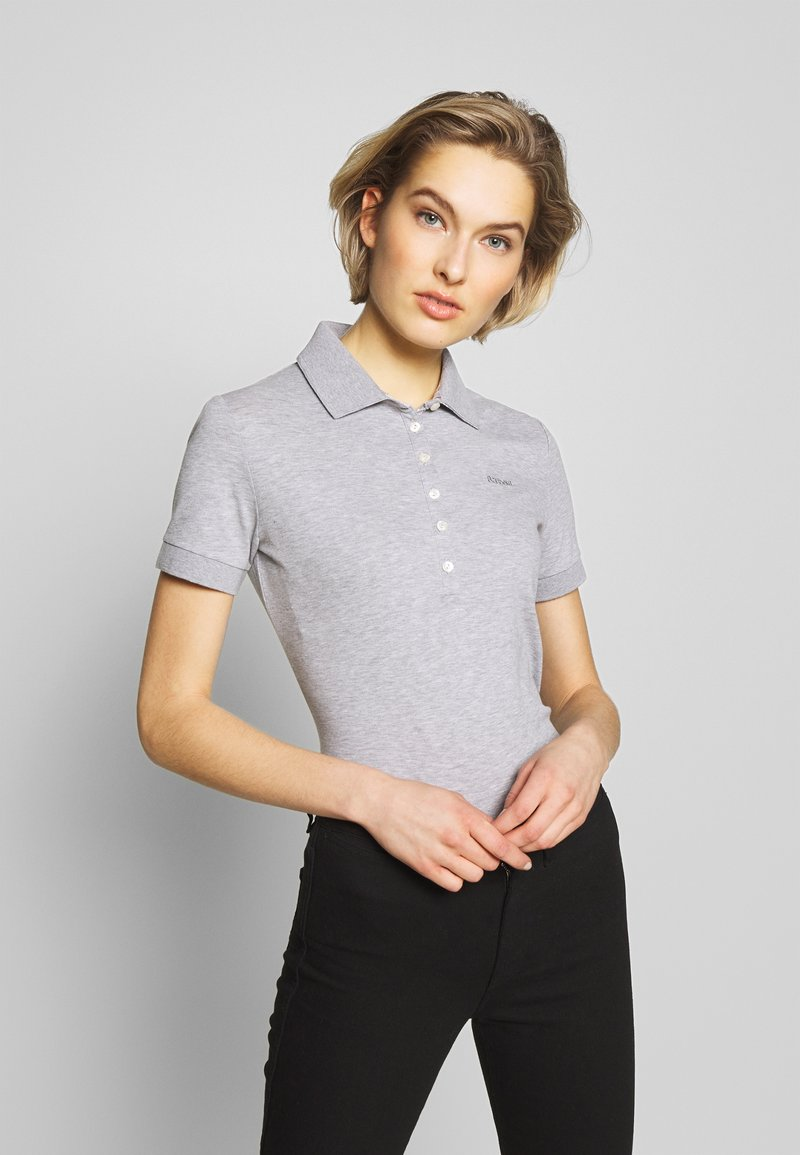 Barbour - BARBOUR PORTSDOWN  - Polo shirt - grey marl/platinum