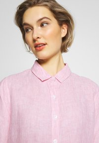 Barbour - Button-down blouse - pink/white - 3