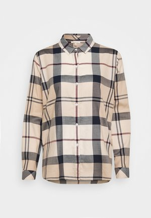 MOORLAND SHIRT - Button-down blouse - pearl