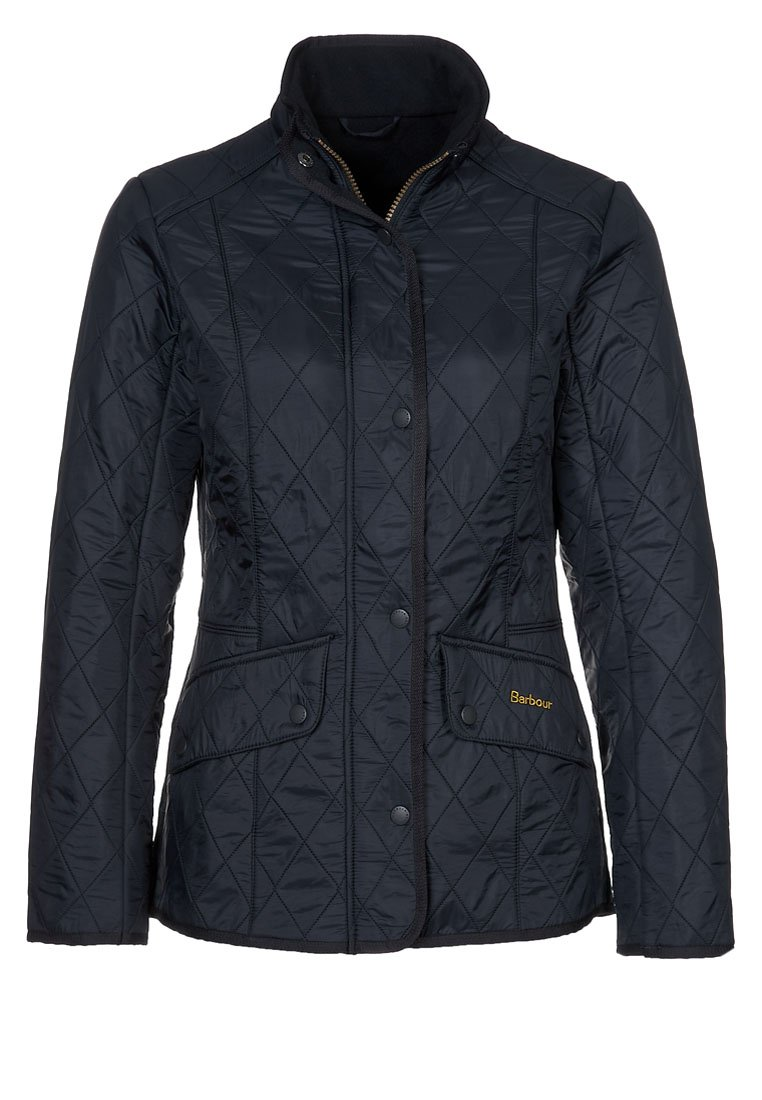 Barbour - POLARQUILT - Übergangsjacke - black