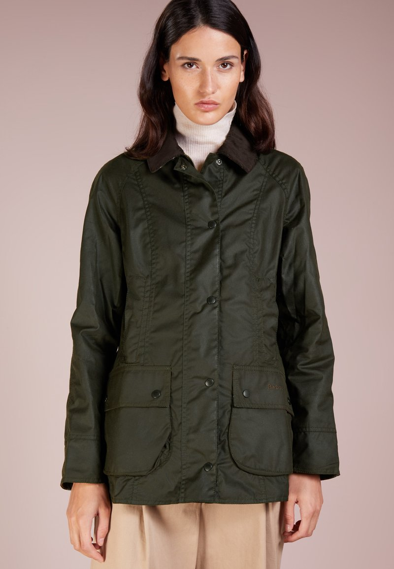 Barbour - CLASSIC BEADNELL JACKET - Parka - olive