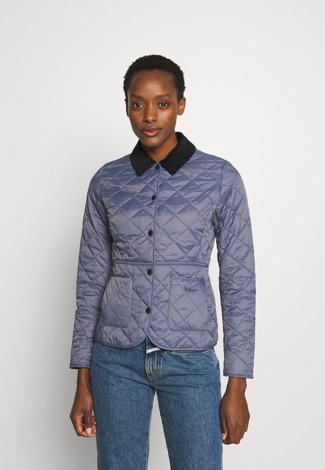 DEVERON QUILT - Light jacket - slate blue/navy