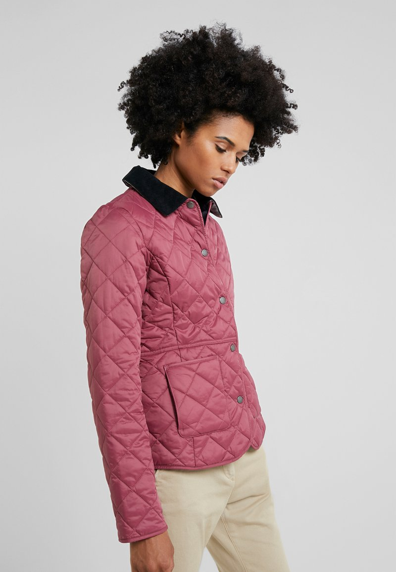 Barbour - DEVERON QUILT - Light jacket - rouge/navy