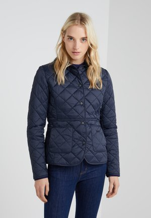 DEVERON QUILT - Light jacket - navy/pale pink