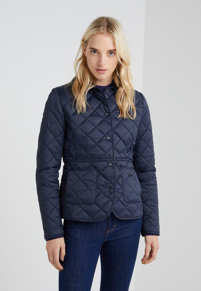 DEVERON QUILT - Light jacket - navy/pale pink