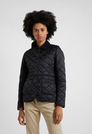 DEVERON QUILT - Light jacket - black