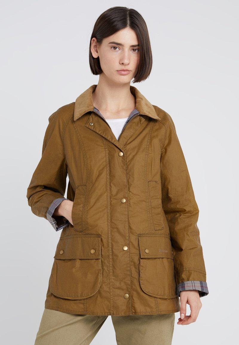 Barbour - LIGHTWEIGHT BEADNELL - Short coat - camel