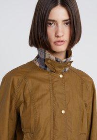 Barbour - LIGHTWEIGHT BEADNELL - Short coat - camel - 3
