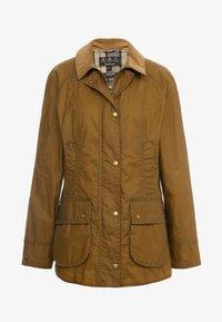 Barbour - LIGHTWEIGHT BEADNELL - Short coat - camel - 4