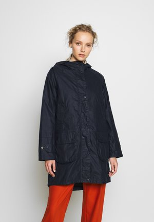 BARBOUR MADDISON WAX - Bomber Jacket - royal navy