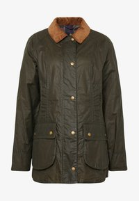 Barbour - BARBOUR LIGHTWEIGHT BEADNELL - Short coat - archive olive - 4