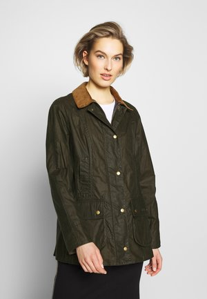 BARBOUR LIGHTWEIGHT BEADNELL - Short coat - archive olive