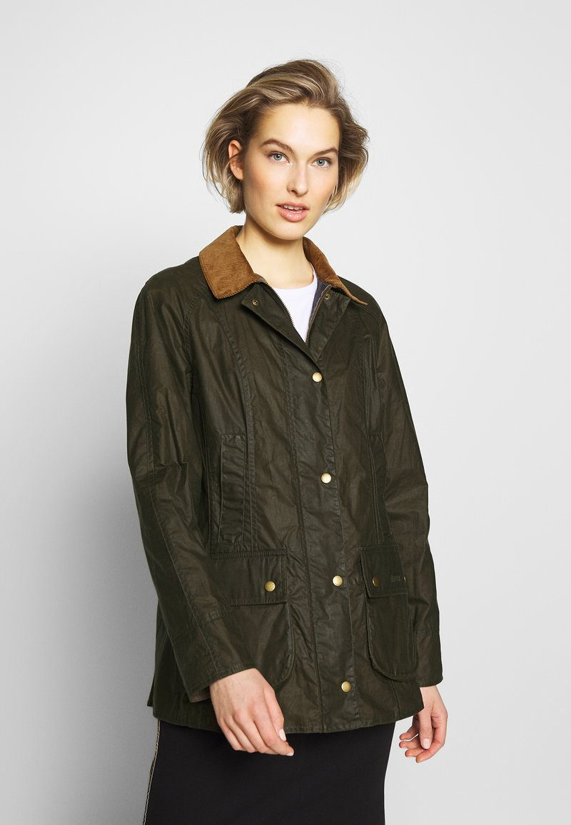 Barbour - BARBOUR LIGHTWEIGHT BEADNELL - Short coat - archive olive