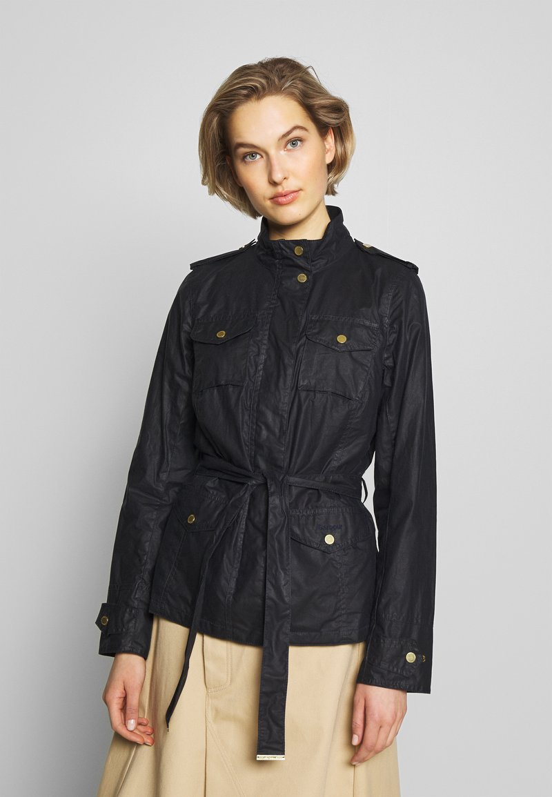 Barbour - MACKAY WAX - Waterproof jacket - royal navy
