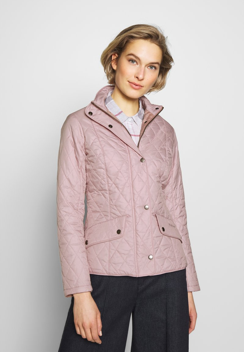 Barbour - FLYWEIGHT CAVALRY QUILT - Light jacket - blossom
