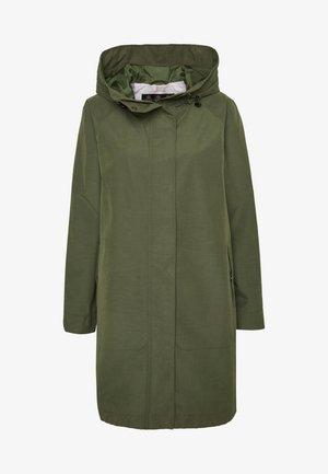 BARBOUR SUBTROPIC - Halflange jas - moss green/platinum tartan