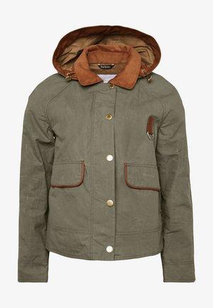 RE-ENGINEERED SPEY - Summer jacket - olive