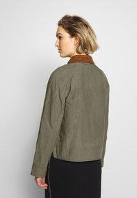 Barbour - RE-ENGINEERED SPEY - Summer jacket - olive - 3
