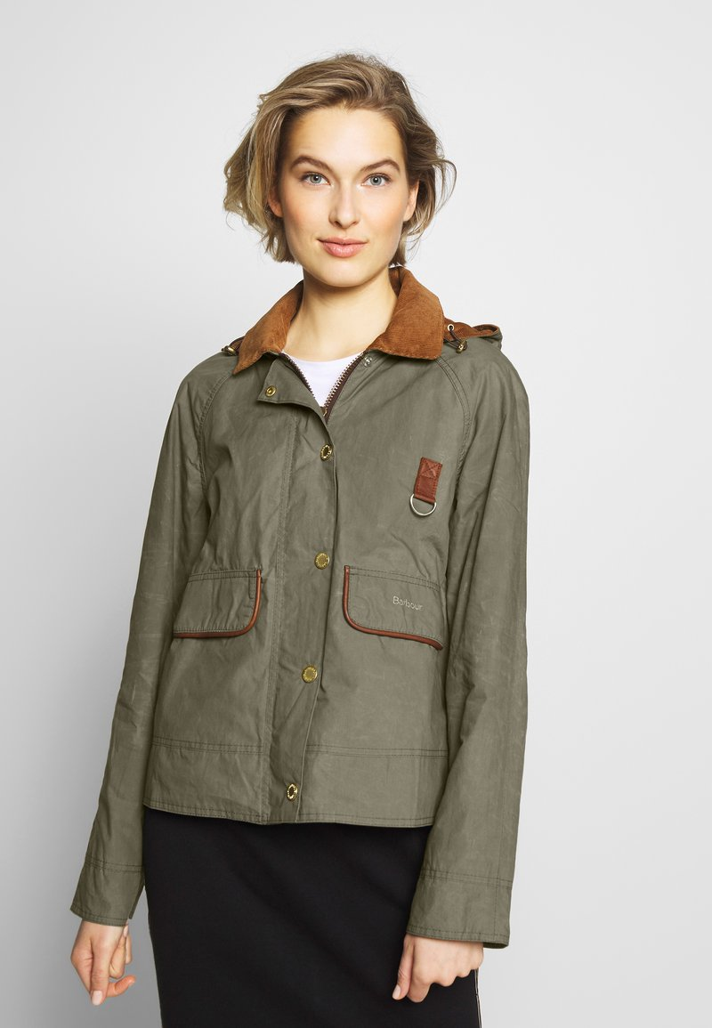 Barbour - RE-ENGINEERED SPEY - Summer jacket - olive