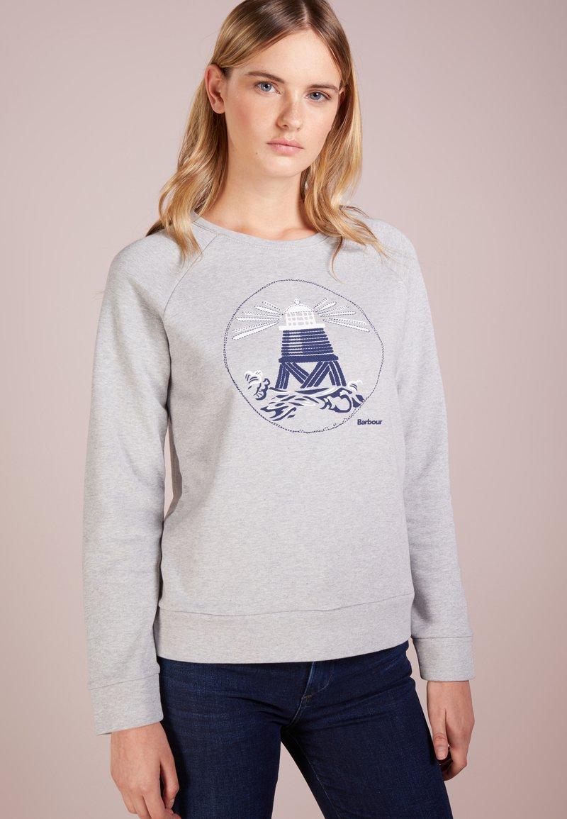Barbour - COLDHURST - Sweater - light grey marl