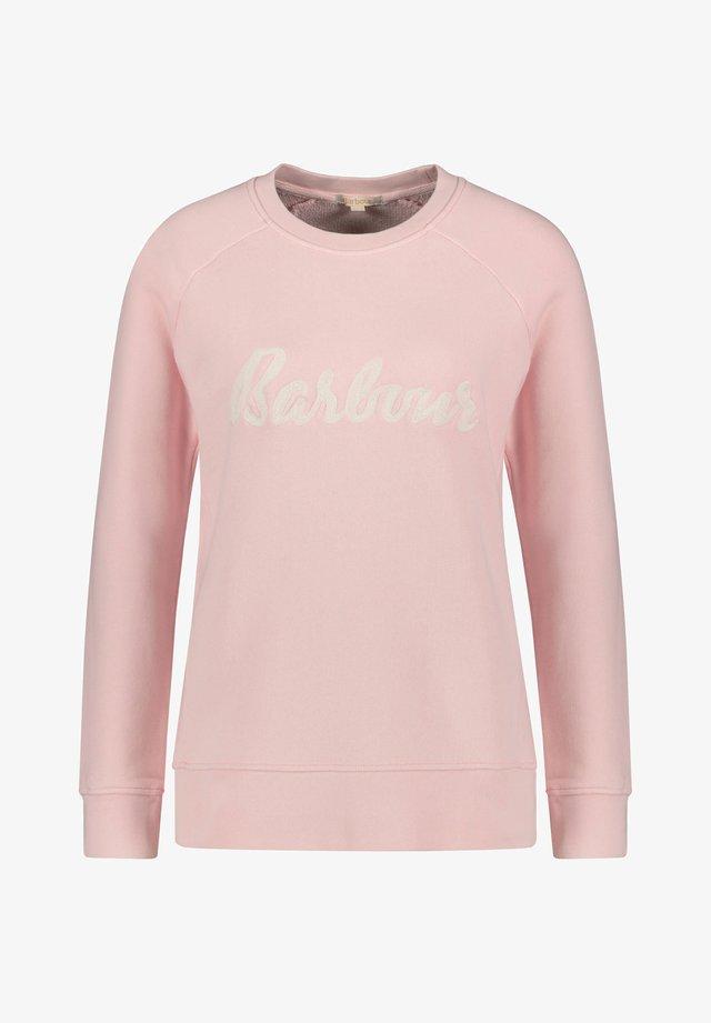 BARBOUR DAMEN SWEATSHIRT - Sweatshirt - rose