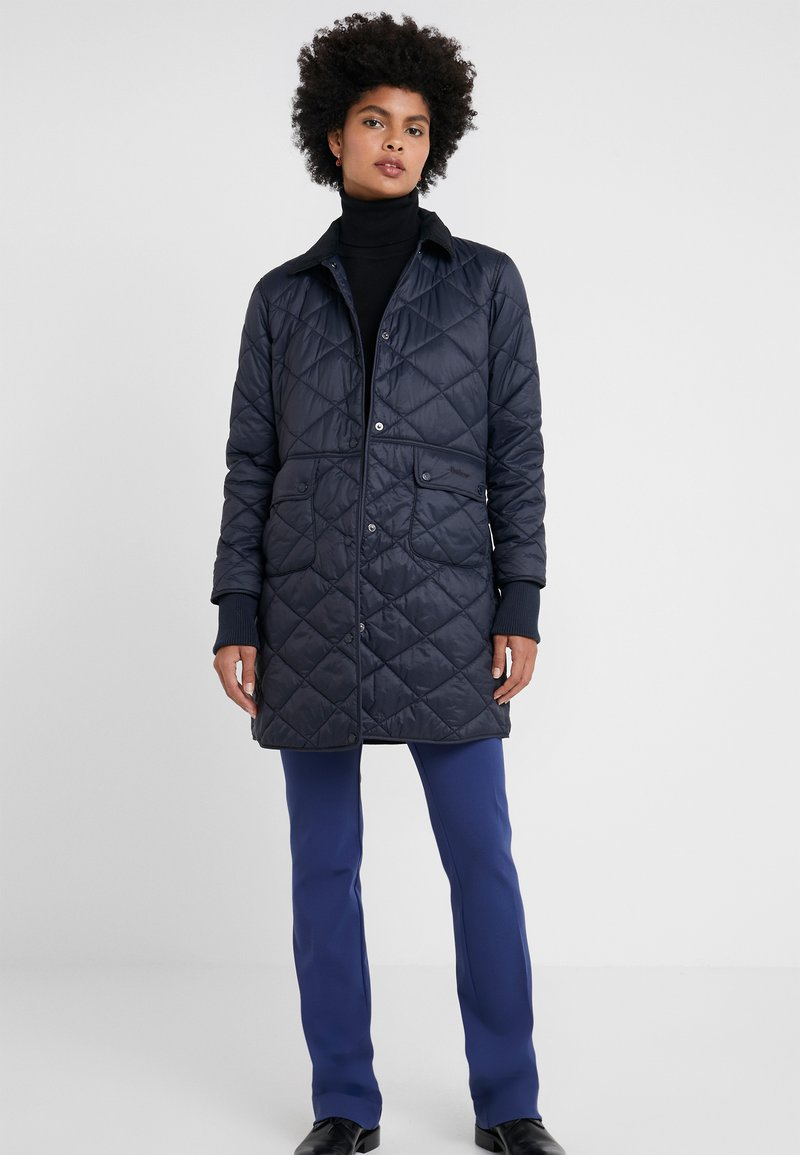 Barbour - JEDBURGH - Short coat - navy