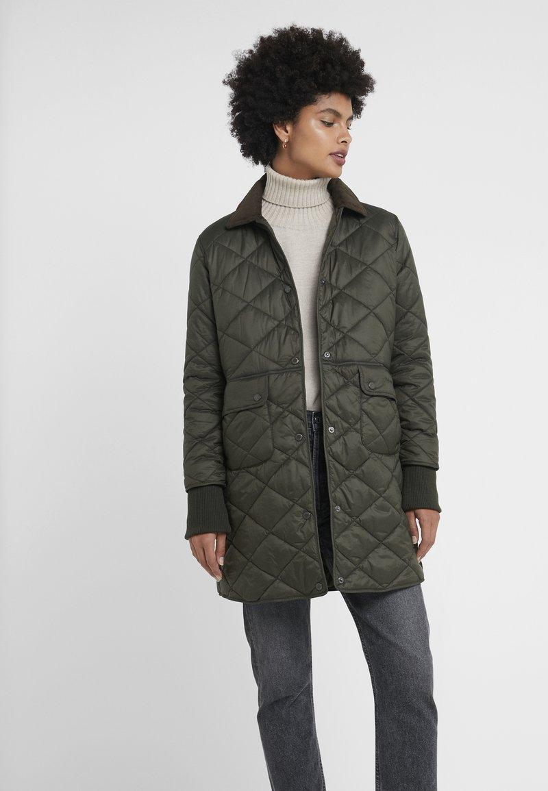 Barbour - JEDBURGH - Krótki płaszcz - sage