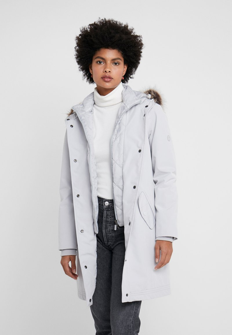 Barbour - MAST - Parka - ice white
