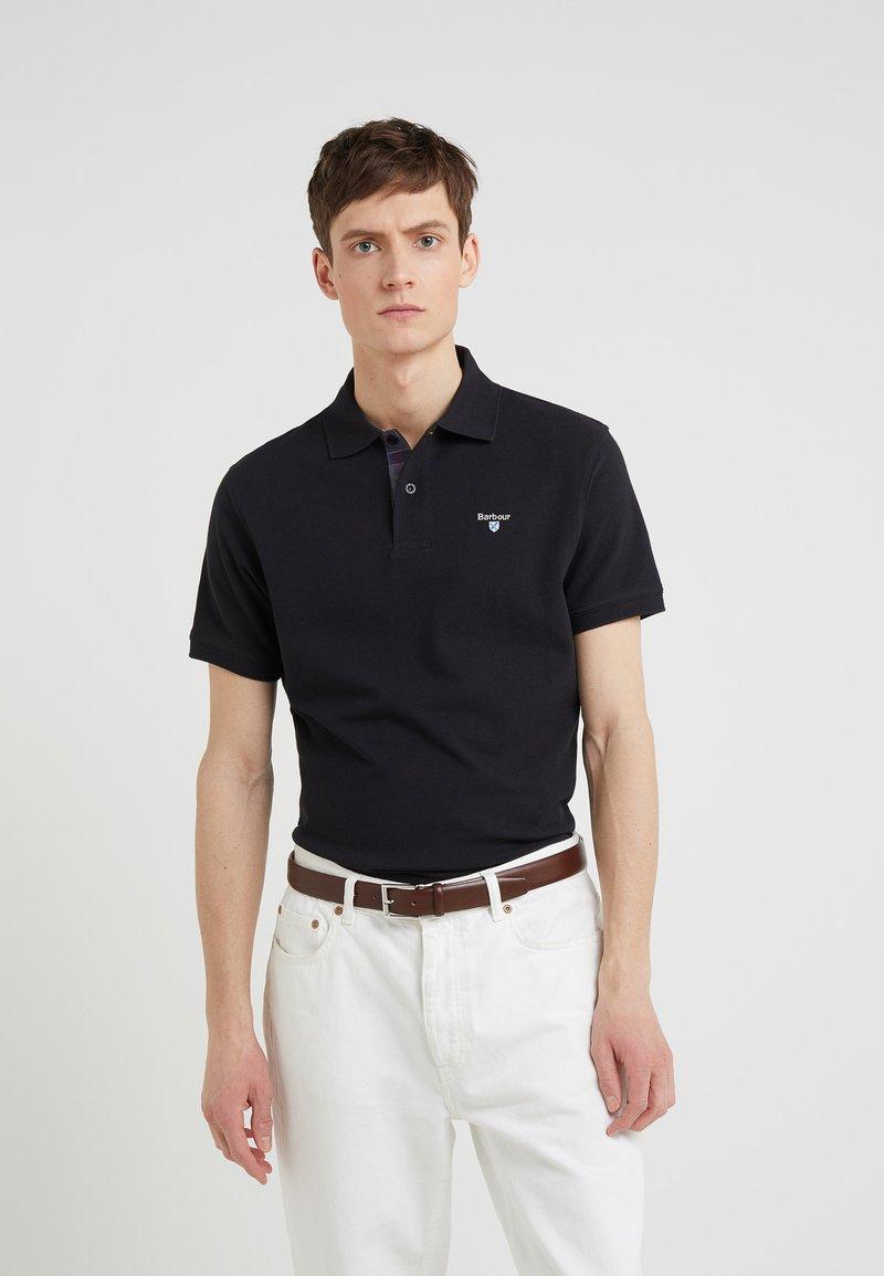 Barbour - TARTAN - Polo shirt - black/modern