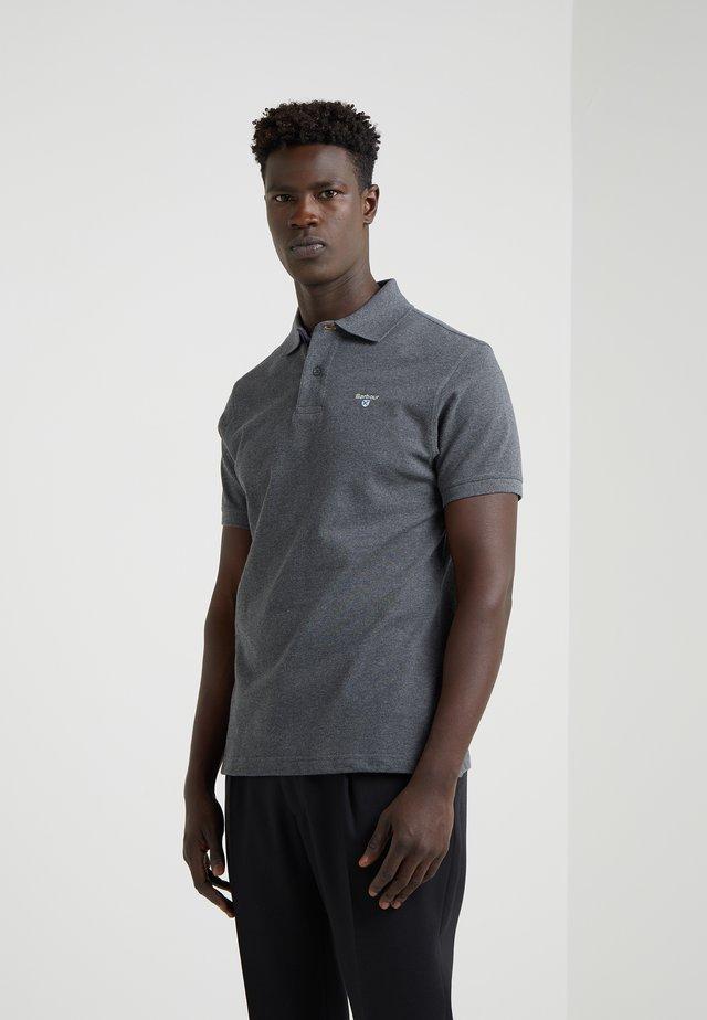 TARTAN - Polo shirt - slate marl