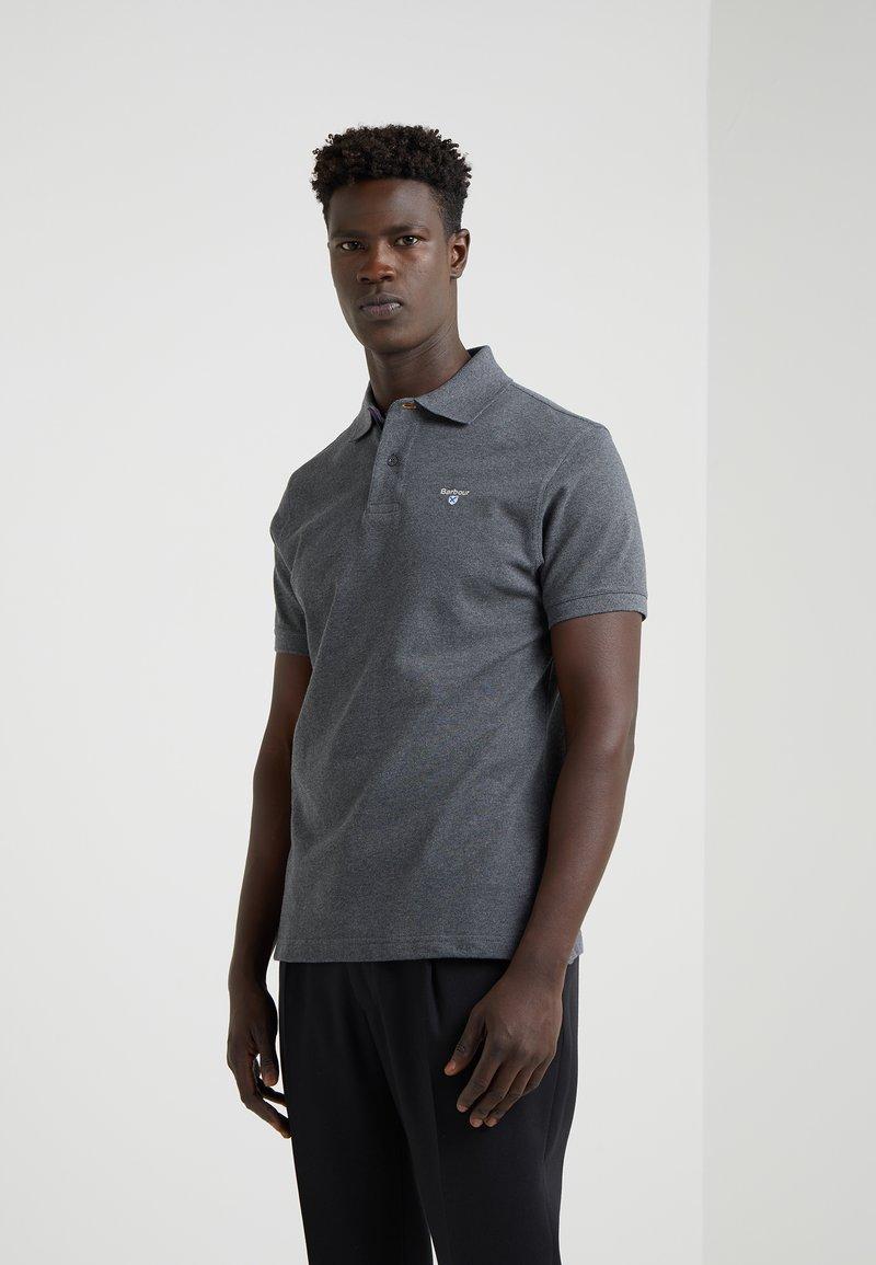 Barbour - TARTAN - Poloshirt - slate marl