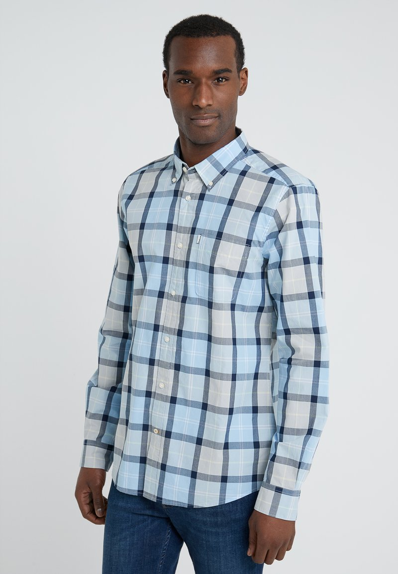 Barbour - BURNSIDE - Shirt - ocean blue