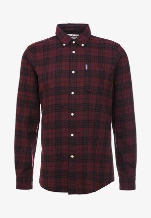 COUNTRY CHECK - Shirt - merlot