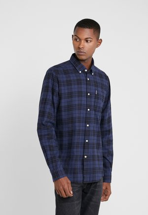 COUNTRY CHECK - Shirt - indigo