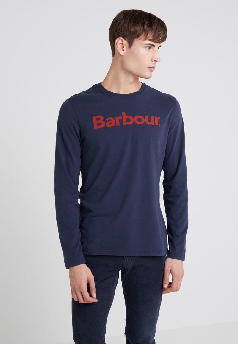 Barbour - ROANOAKE TEE - Long sleeved top - navy